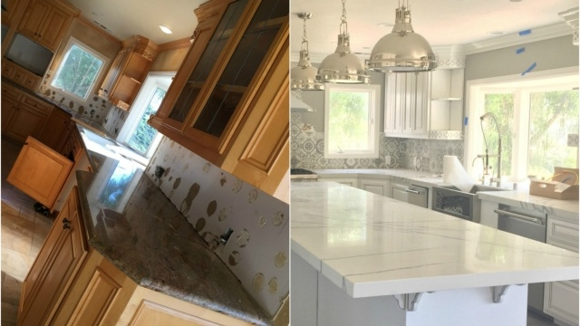 French Country Farmhouse Kitchen Remodel