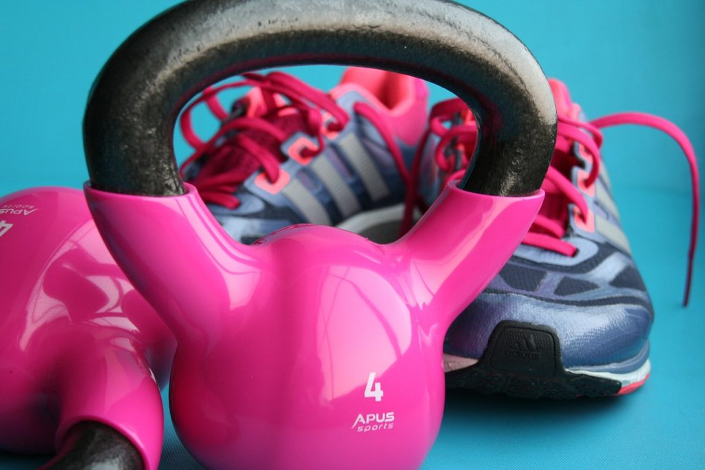 fitness, gym, kettlebells