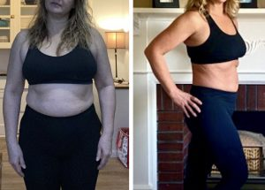Client Weight Loss Transformation   www.kiana.com