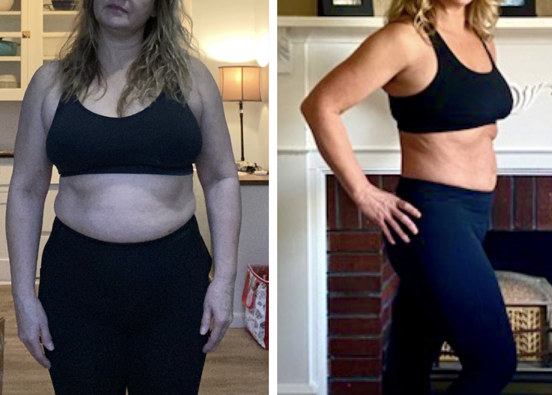 Client Weight Loss Transformation | www.kiana.com