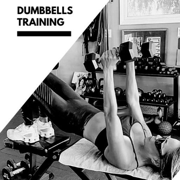 DB TEAM | 4-WEEK TRAINING PROGRAM WITH DUMBBELLS