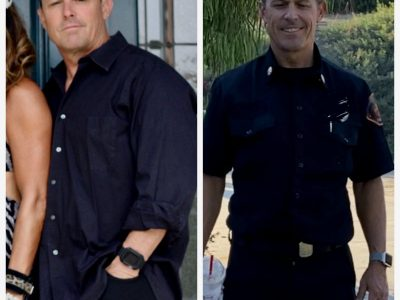 PROUD OF MY HUSBAND FOR LOSING 25 LBS. &  7