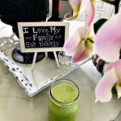 Kiana Fit Cooking Green Drink OH web