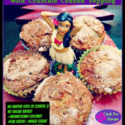 HULA GIRL NO SUGAR MUFFINS