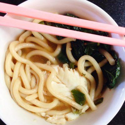 Kiana.com FitMomTV.com Udon Soup